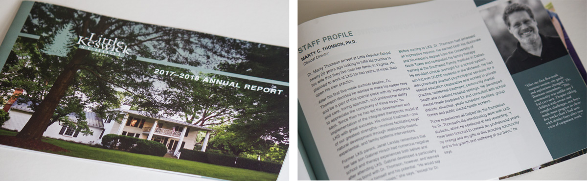 Little Keswick School Annual Report